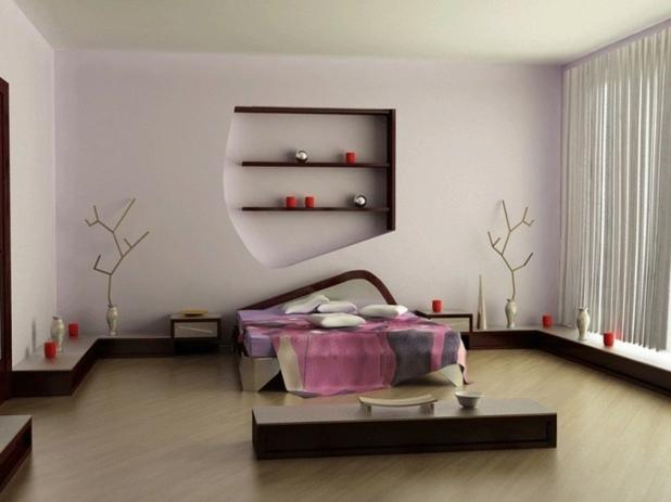 Chambre coucher style zen for Deco zen chambre a coucher