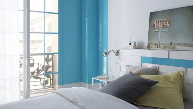 Chambre Bleu Canard Quebec Couleur de chambre bleu tendance et design