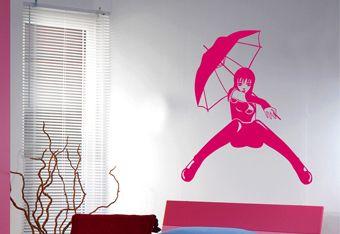 deco chambre ado stickers. Black Bedroom Furniture Sets. Home Design Ideas