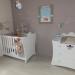 deco chambre bebe blanc et taupe