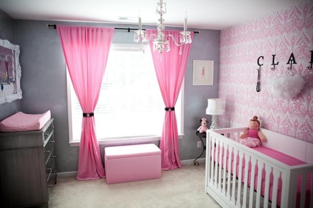 deco chambre bebe fille princesse - visuel #1