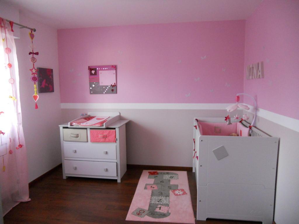 deco chambre bebe fille rose - visuel #6