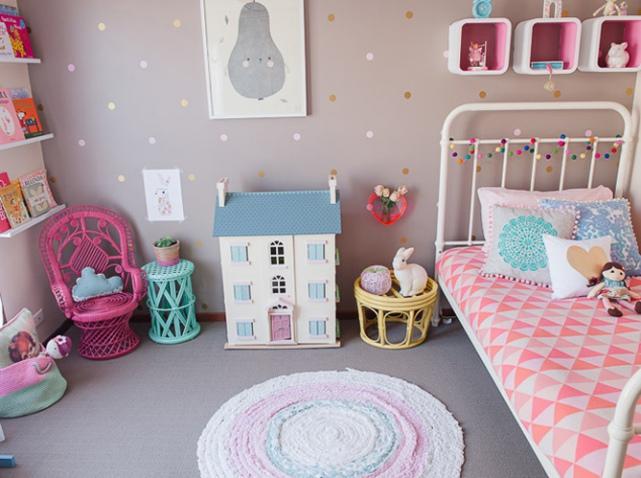 Emejing Chambre Vintage Petite Fille Photos - House Design ...