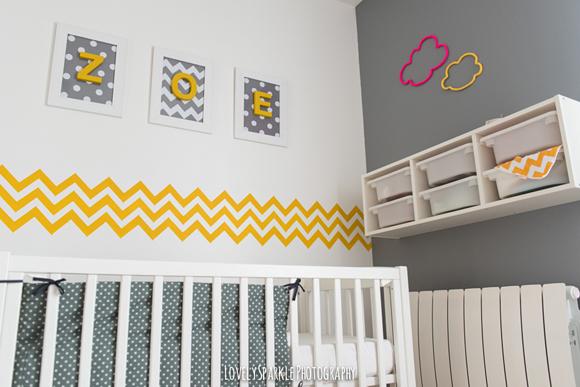 deco chambre bebe jaune - visuel #1