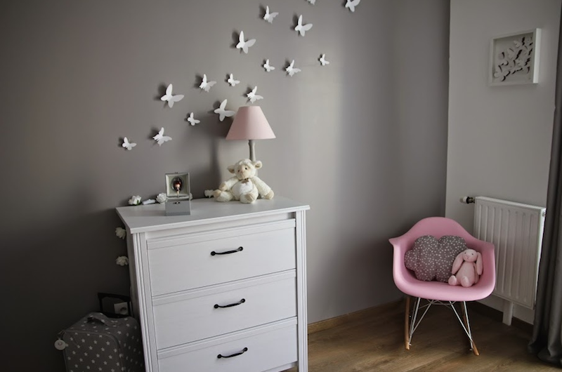 deco chambre bebe papillon visuel 6. Black Bedroom Furniture Sets. Home Design Ideas