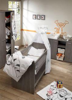 déco chambre bebe tigrou