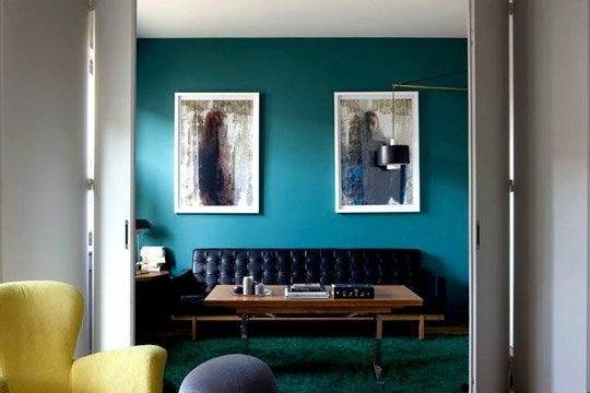 deco chambre bleu petrole - visuel #7