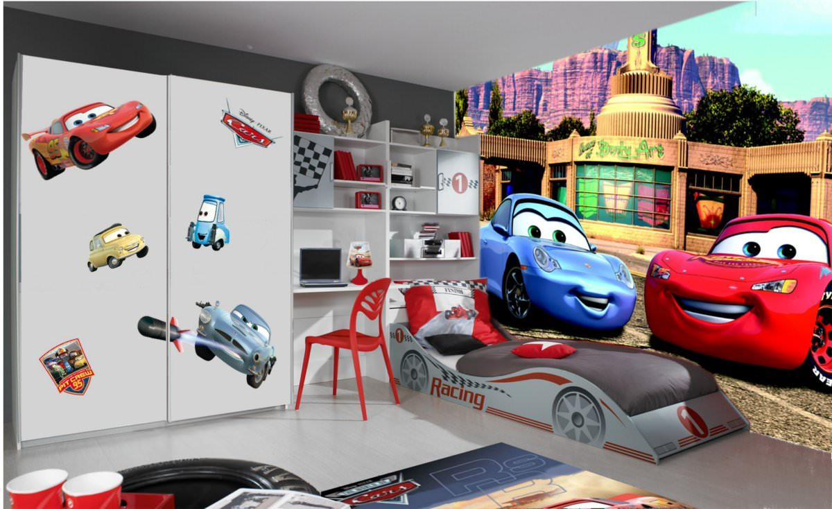 d co chambre cars 2. Black Bedroom Furniture Sets. Home Design Ideas
