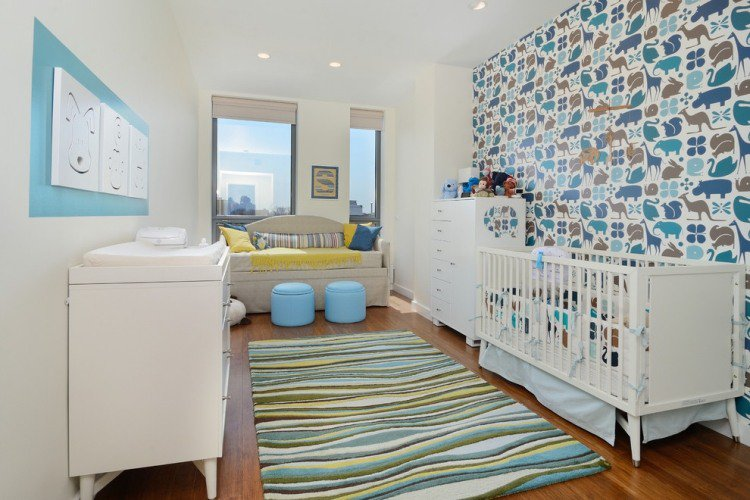 Best Bleu Turquoise Chambre Bebe 2 Photos - House Design ...