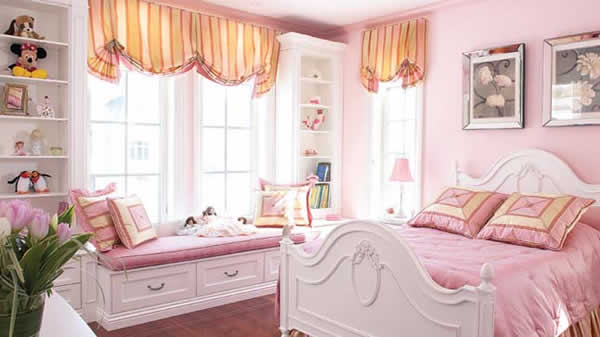 deco chambre girly. Black Bedroom Furniture Sets. Home Design Ideas