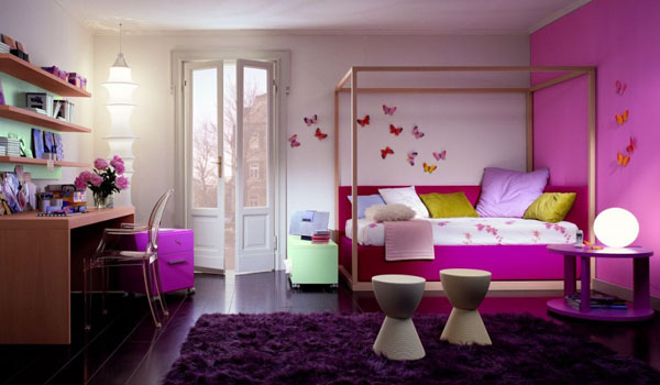 deco chambre jeune fille visuel 2 chambre de jeune fille - Decoration De Chambre De Fille