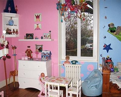 Deco chambre jumeaux fille garcon visuel 5 - Peinture chambre bebe mixte ...