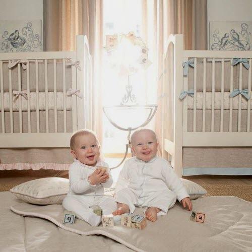 deco chambre jumeaux fille garcon - visuel #8