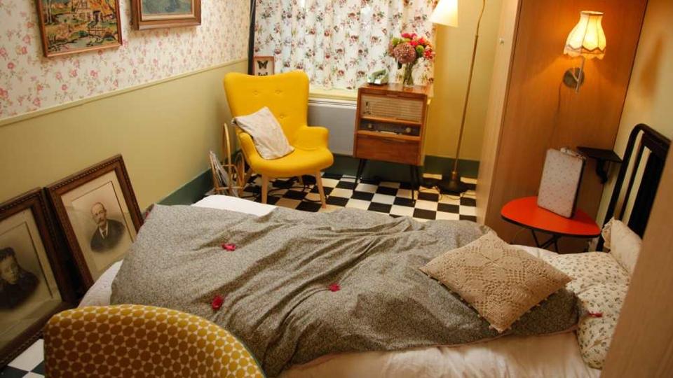 Id e d co chambre b b fait main - Deco vintage chambre ...