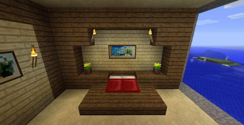 Deco de chambre minecraft visuel 5 for Decoration maison minecraft