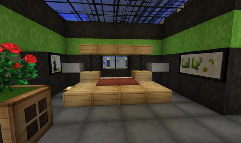 deco de chambre minecraft visuel 1. Black Bedroom Furniture Sets. Home Design Ideas