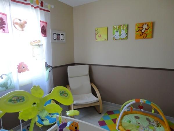 Decoration chambre bebe 1 an visuel 8 - Deco chambre jungle ...