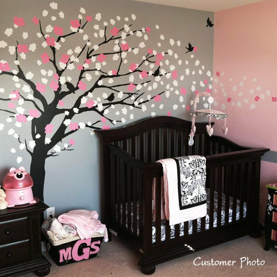 Decoration chambre bebe arbre visuel 6 for Arbre decoration