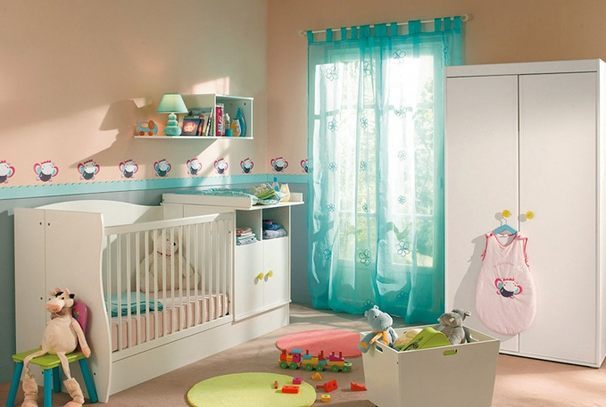 Chambre a coucher bebe alinea for Decoration maison conforama