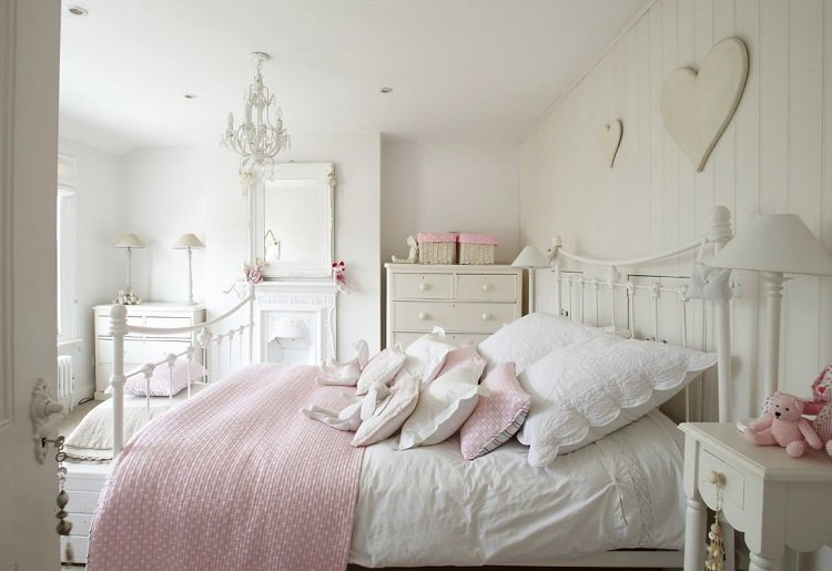 Beautiful Chambre Style Campagne Romantique Ideas - lalawgroup.us ...
