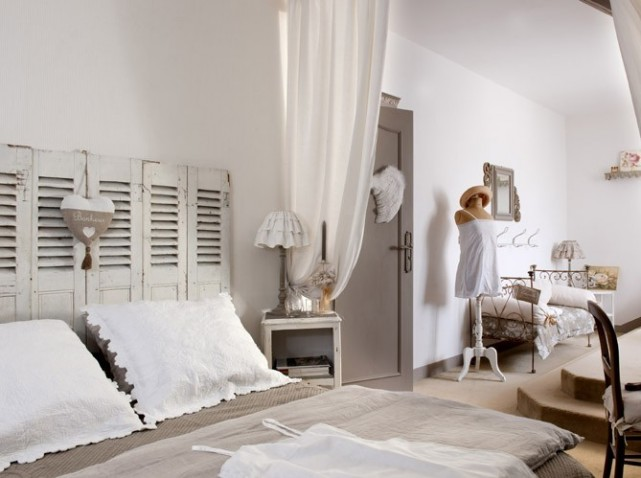 Decoration chambre campagne chic for Decoration campagne chic