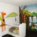 decoration chambre de bebe jungle