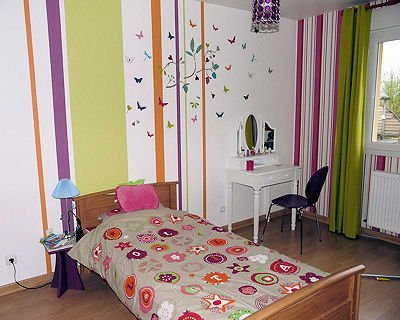 D co chambre 10 ans for Idees deco chambre fille