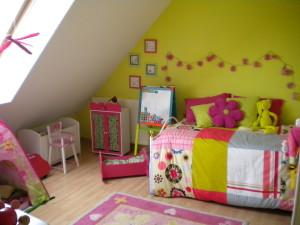 D co chambre de fille 7 ans for Amenager chambre bebe 7m2