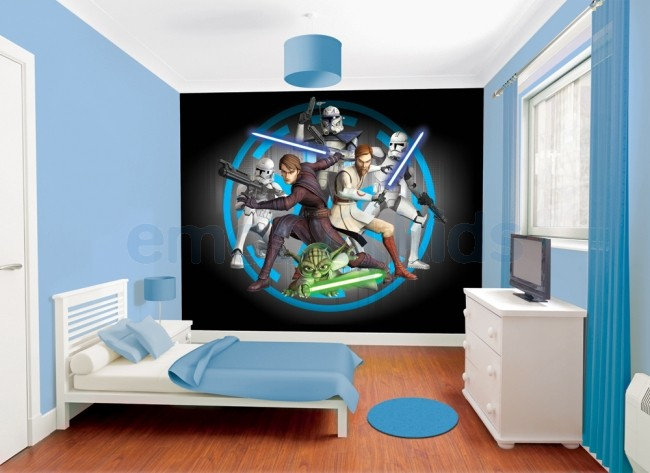 decoration chambre garcon star wars visuel 6. Black Bedroom Furniture Sets. Home Design Ideas