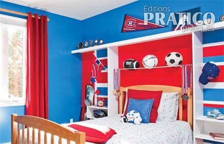 decoration chambre hockey canadien visuel 1