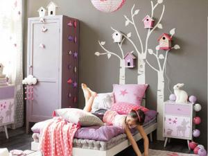 d coration chambre petite fille 6 ans. Black Bedroom Furniture Sets. Home Design Ideas