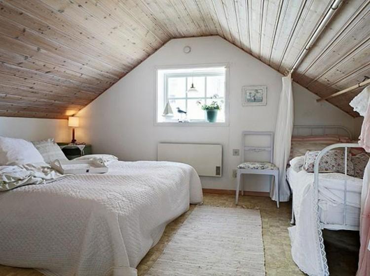 Decoration chambre sous pente visuel 2 for Chambre sous comble