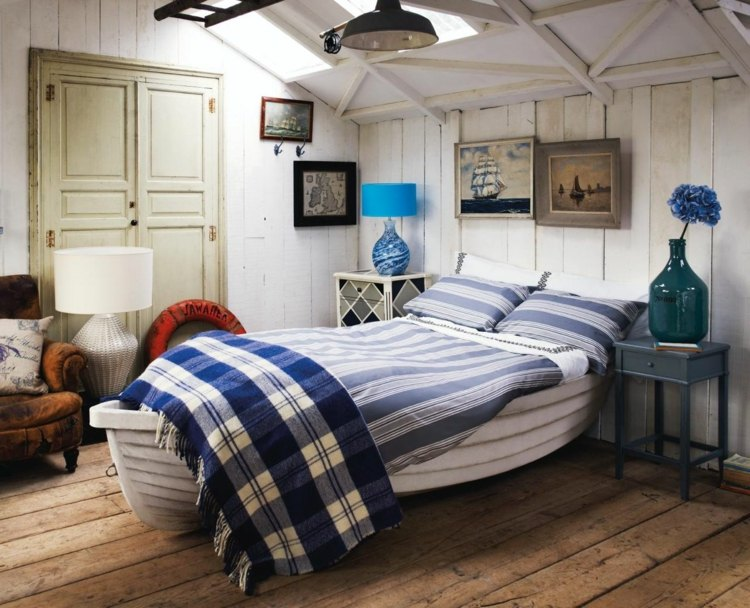 decoration chambre style bord de mer - visuel #7
