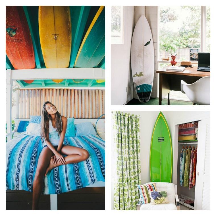 Decoration chambre surf visuel 5 - Decoration surf chambre ...