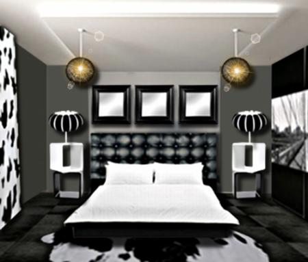 decoration d chambre design visuel 2. Black Bedroom Furniture Sets. Home Design Ideas