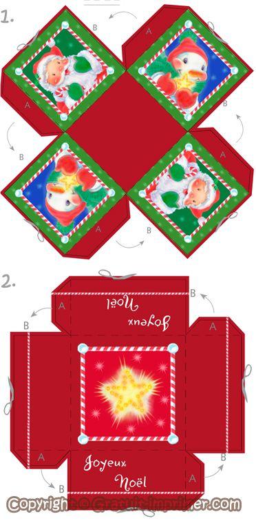 Decoration De Noel A Fabriquer A Imprimer Visuel 4