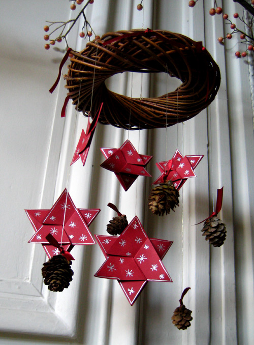 Decoration de noel a faire soi meme guirlande visuel 8 - Decorations de noel a faire soi meme ...