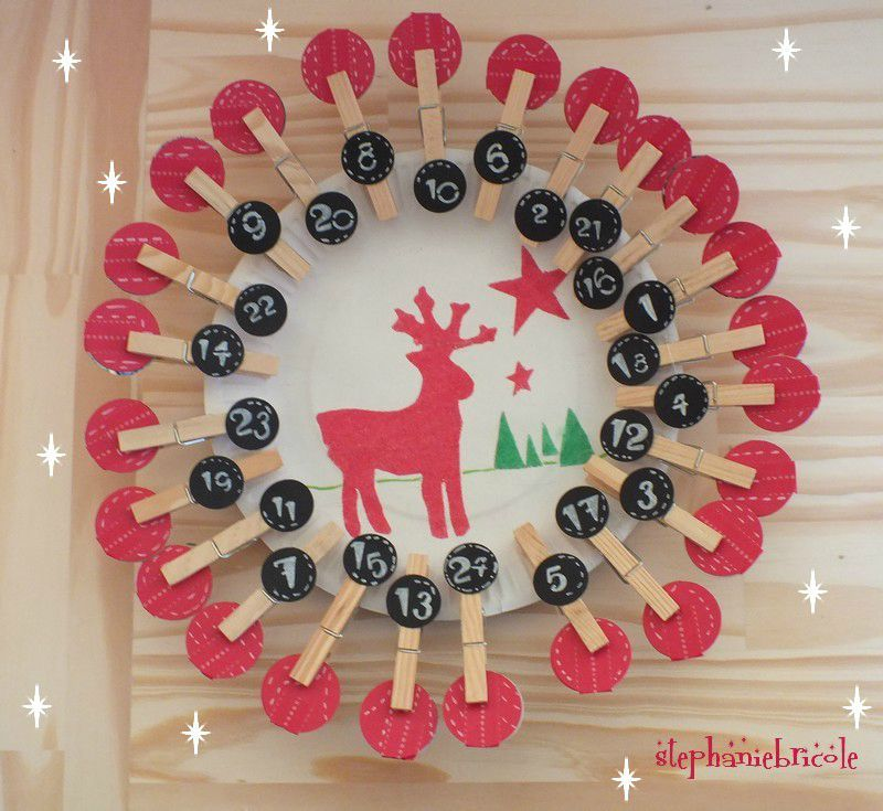 Decoration de noel a faire soi meme maternelle visuel 8 - Decoration de table de noel a faire soi meme ...