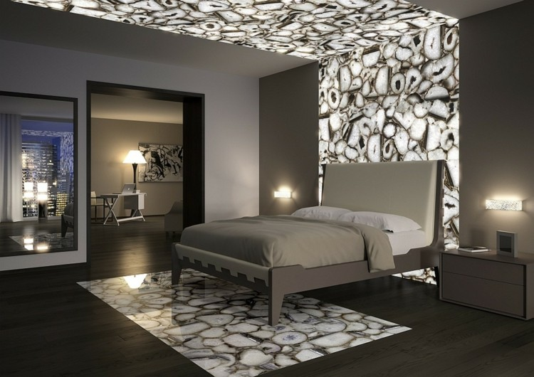 d coration chambre mur. Black Bedroom Furniture Sets. Home Design Ideas