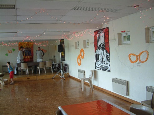 Decoration disco a faire soi meme visuel 5 for Decoration 30 ans