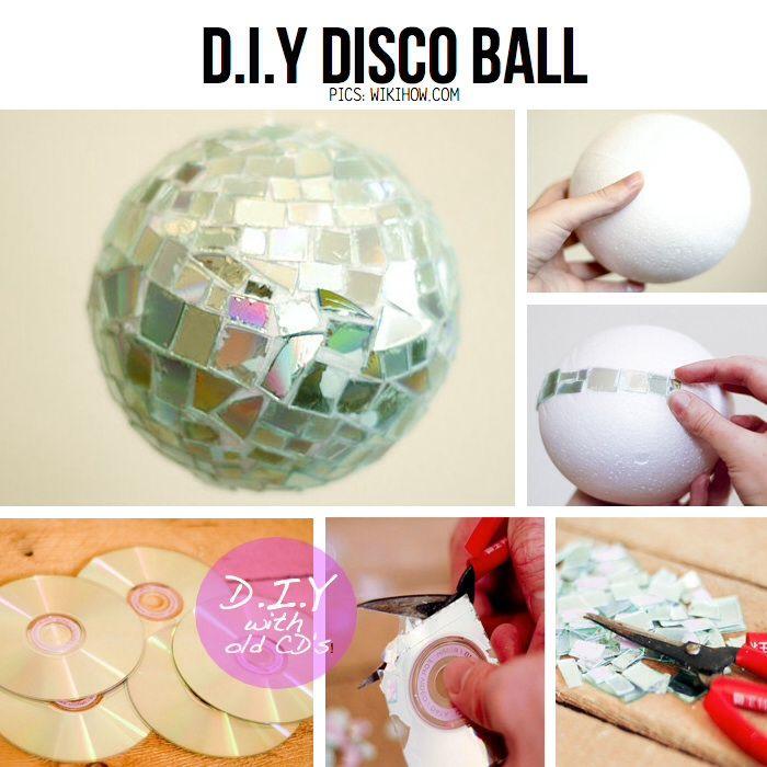 Decoration disco a faire soi meme - Decoration a faire soi meme pour chambre ...