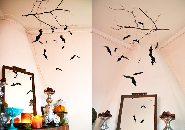 Decoration halloween faire soi meme visuel 2 - Decoration de porte halloween ...