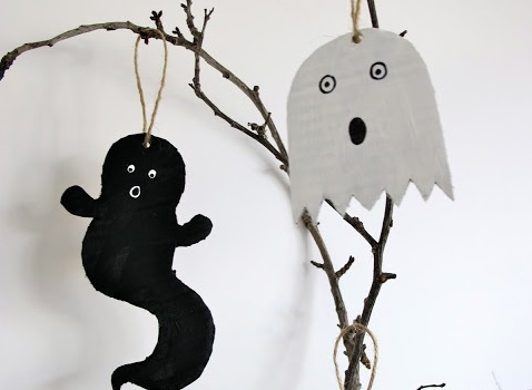 Decoration halloween faire soi meme visuel 6 - Faire deco halloween ...