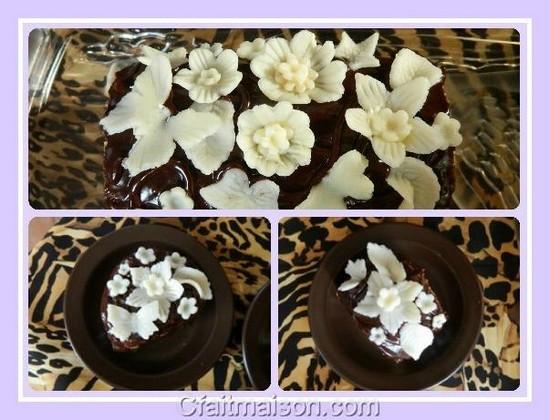 Decoration En Chocolat Pour Gateau : Faire decoration gateau chocolat visuel