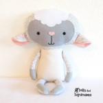 faire un doudou mouton