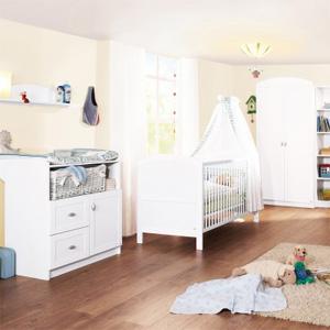 faire une chambre de bebe dans un petit espace. Black Bedroom Furniture Sets. Home Design Ideas