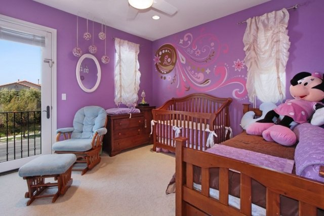 Stunning Chambre Mauve Bebe Photos - Home Decorating Ideas ...