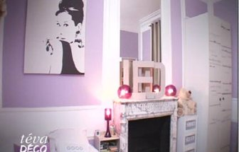 Beautiful Idee Deco Chambre Bebe Fille Mauve Photos - Bikeparty.us ...