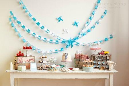 Idee deco pour anniversaire bebe 1 an visuel 6 - Deco anniversaire bebe ...
