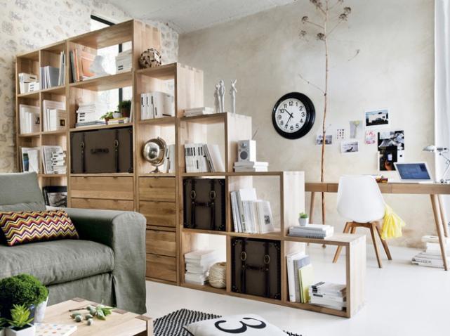 Idee deco pour separer chambre salon visuel 3 - Idee separation chambre salon ...